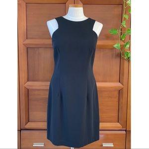 Laundry by Shelli Segal Black Halter Dress